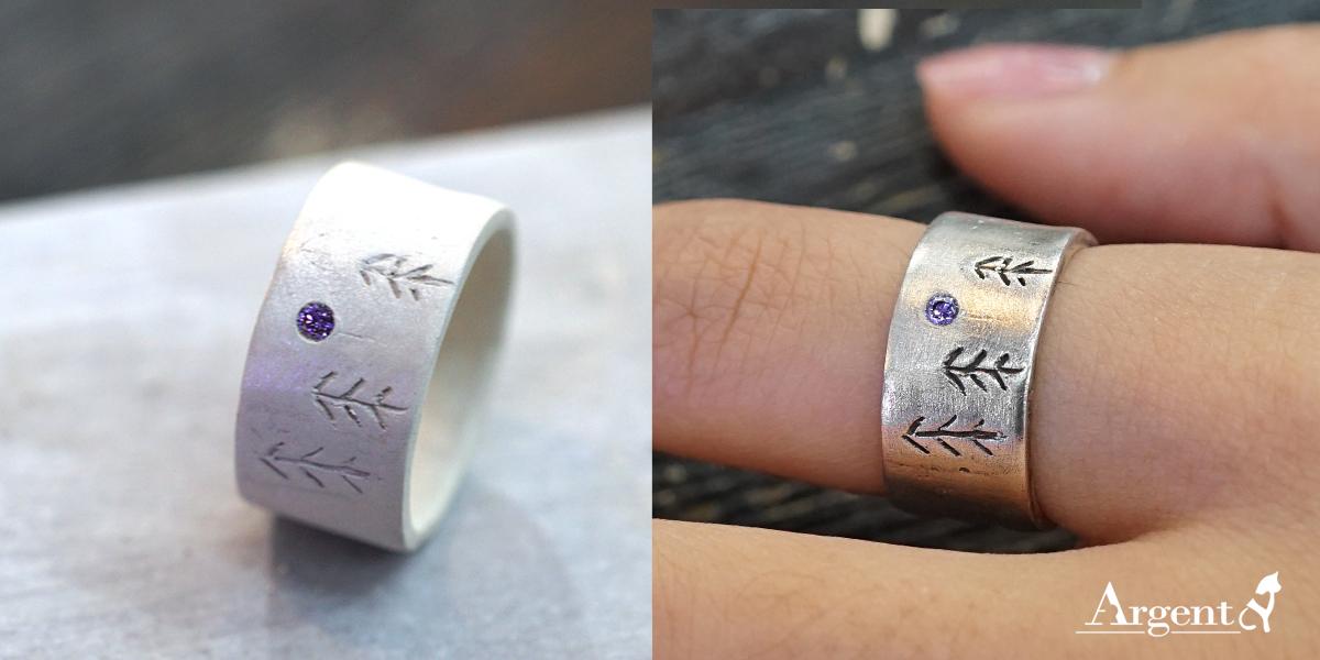 銀黏土教學-清新戒指