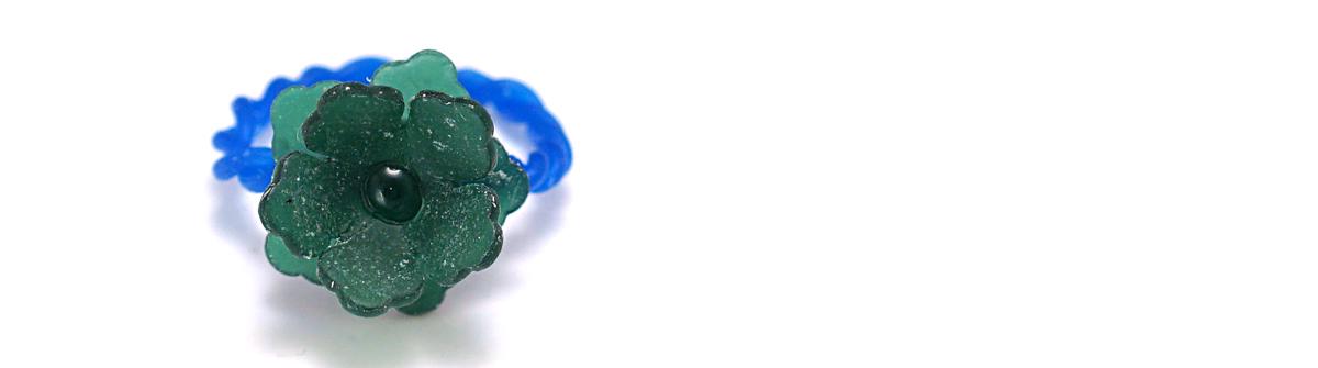 蠟雕-花漾戒指