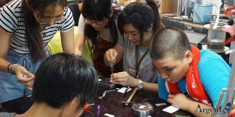 手作團體活動,最搶手的銀飾課程不用人擠人!4
