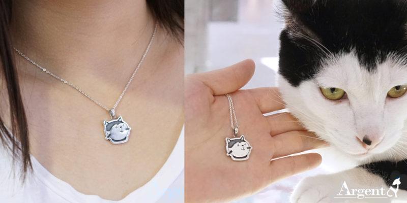 寵物紀念項鍊留下專屬身影,安爵店貓示範完美代言人-3
